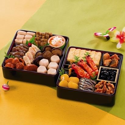 おせち料理セット:朱竹