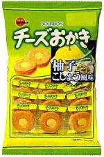 チーズおかき 柚子こしょう風味