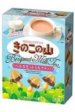 大粒きのこの山 ベルガモットミルクティ-味