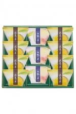 和菓彩羹 萩夏の菓・白桃の菓11個入